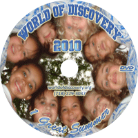 World of Discovery Day Camp DVD 2010